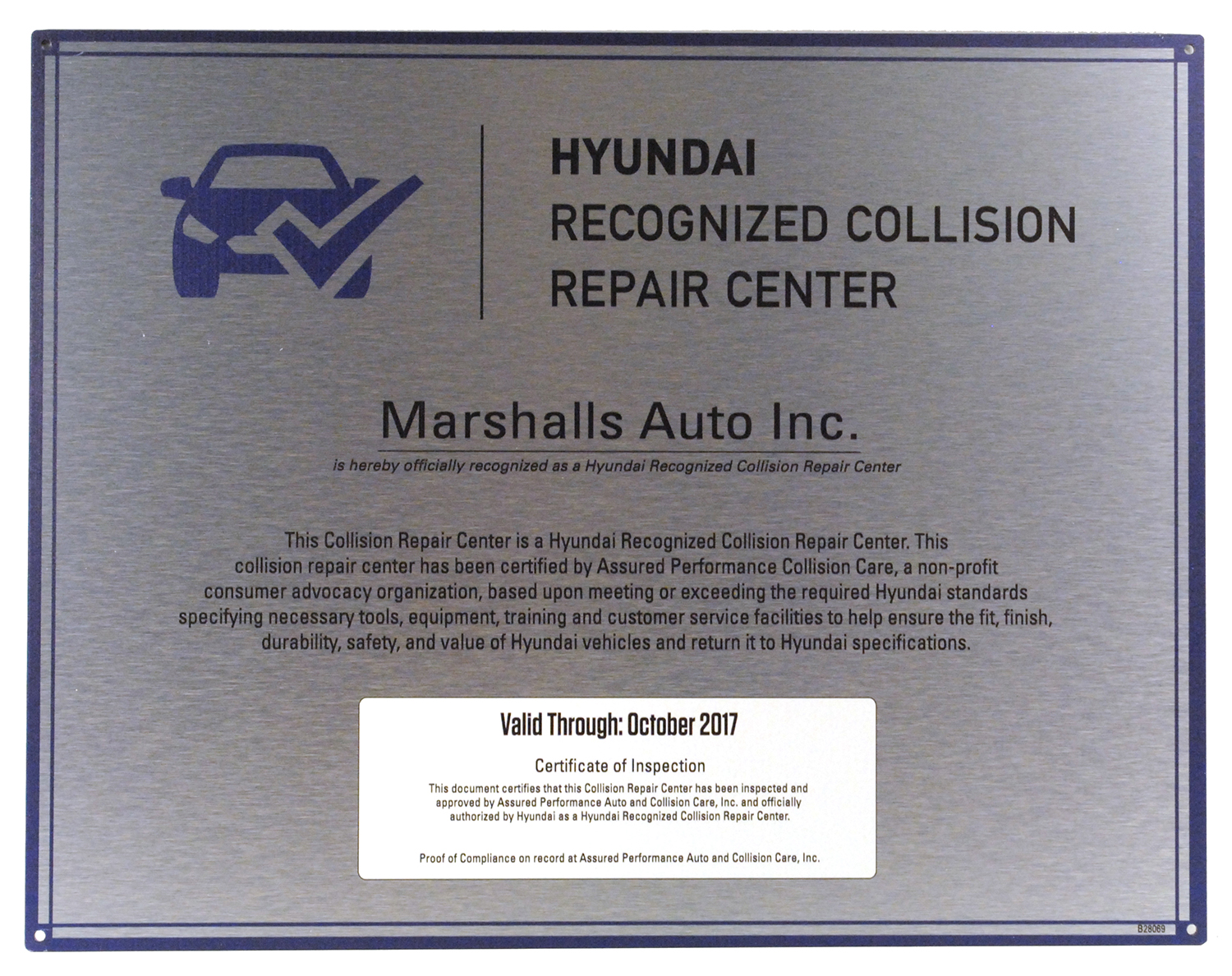 Hyundai Recognized Collision Repair