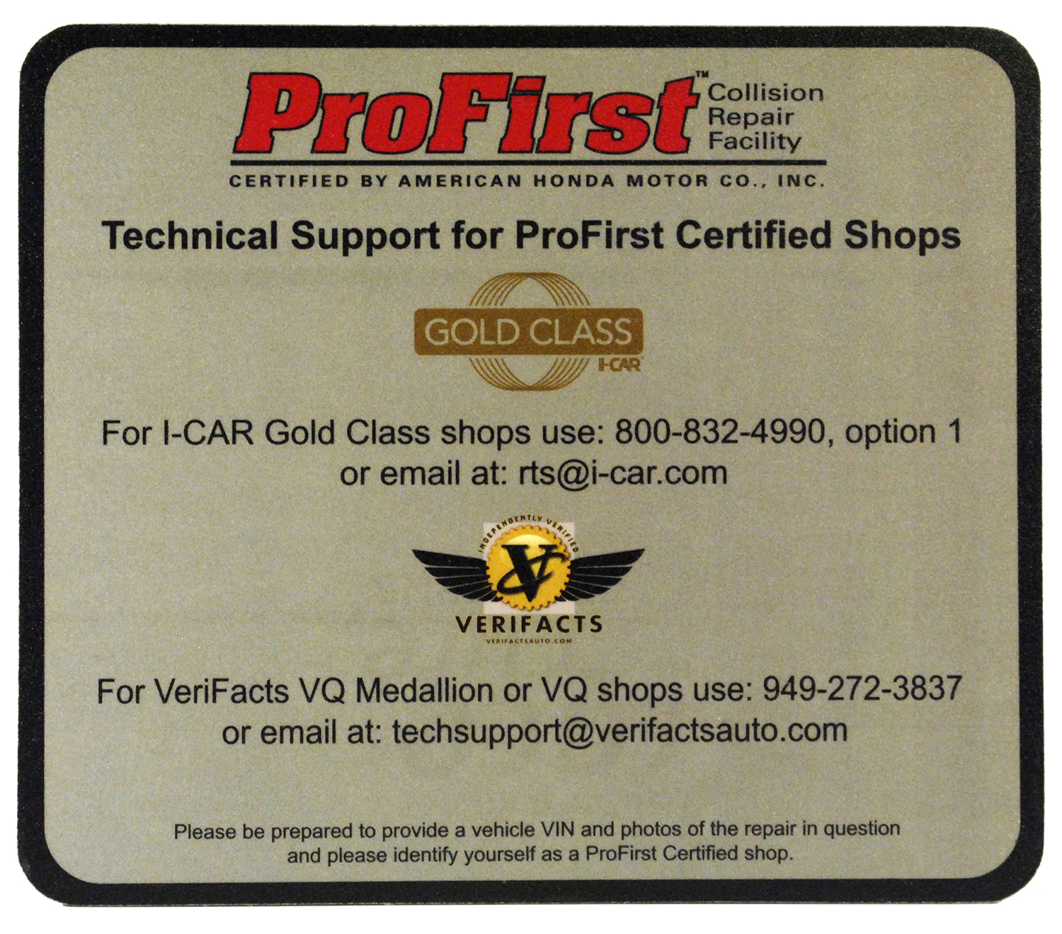 i-Car Gold ProFirst Tech Suport
