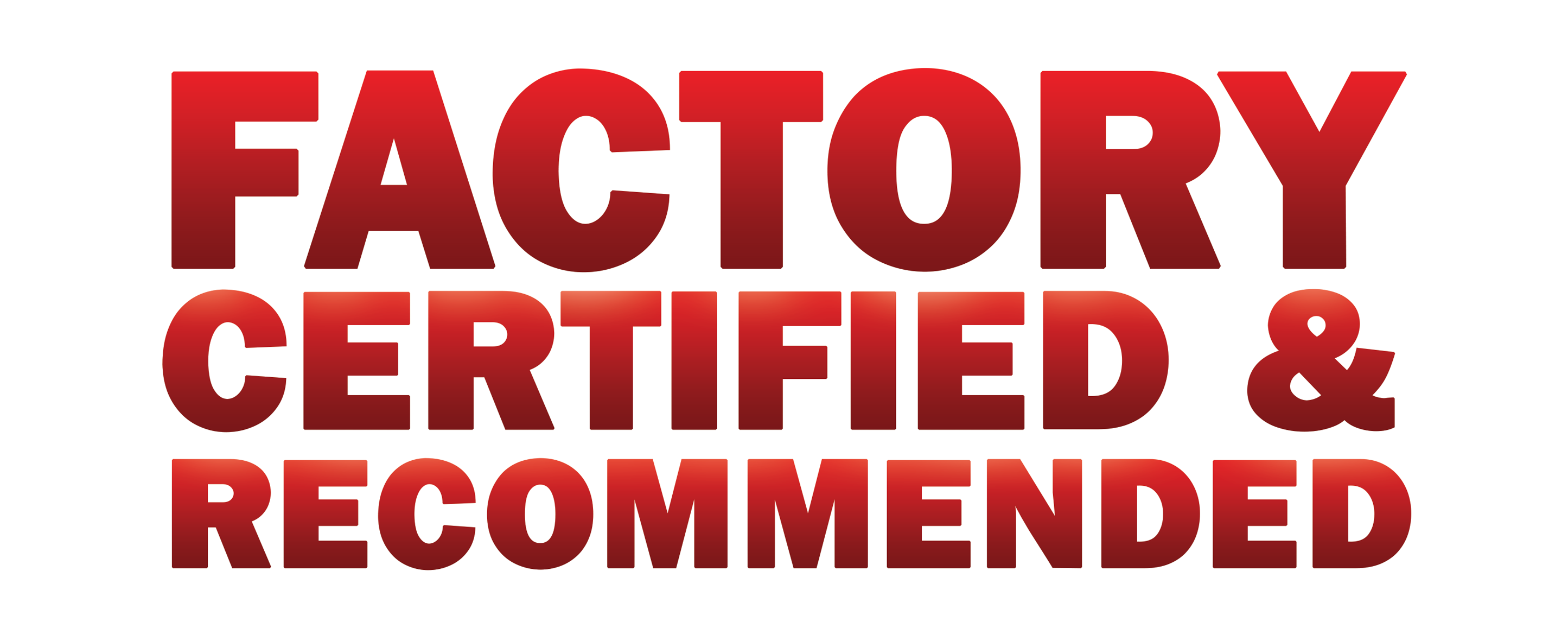 Marshalls Autobody of Billerica is Factory Certified and Recommended